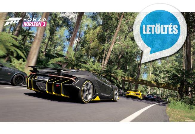 Forza Horizon 3 HD III letöltés
