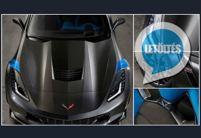 2017 Chevrolet Corvette Grand Sport háttérképek nem csak Apple iPhone 7 Plus-ra ingyen