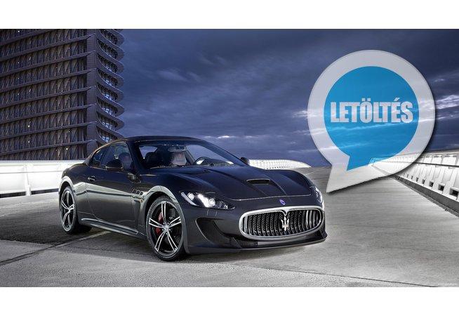 2017 Maserati GranTurismo Sport háttérkép letöltés
