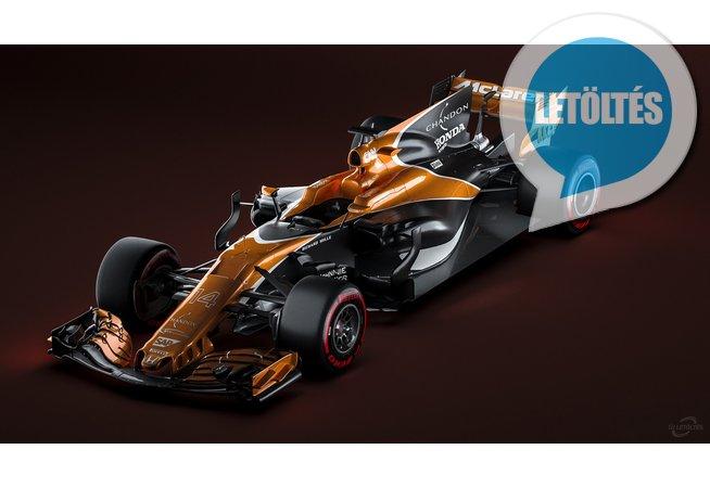 2017 McLaren MCL32 HD háttérképek