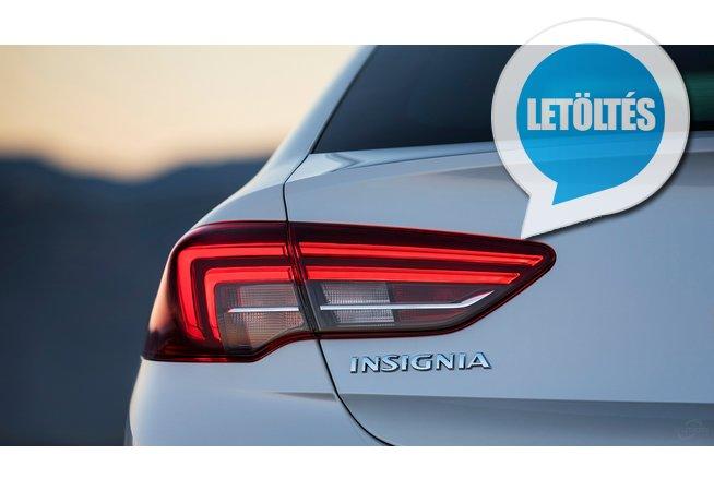 2017 Opel Insignia Grand Sport háttérkép letöltés