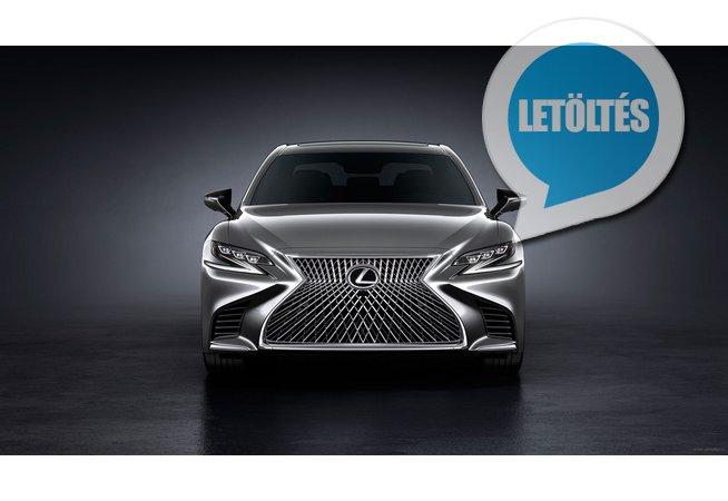 2018 Lexus LS 500 háttérkép letöltés