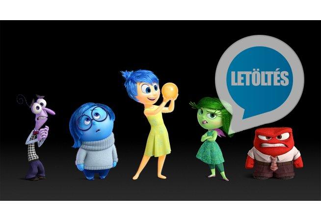 Disney: Agymanók (Inside Out) HD letöltés