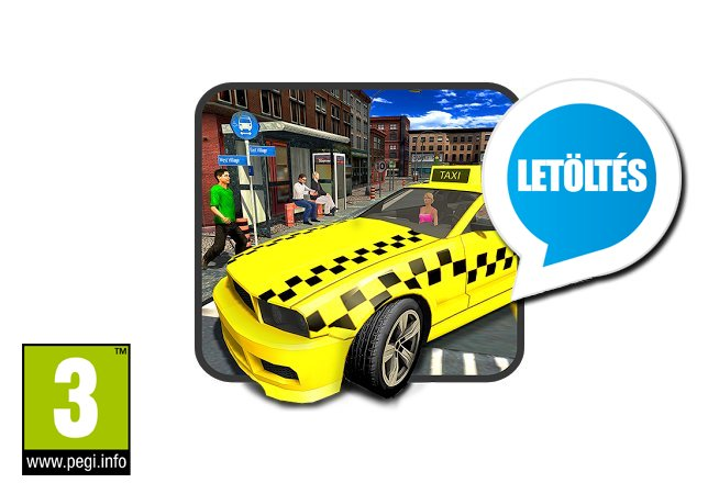 Crazy City Taxi Driver 2017 Android játék letöltés