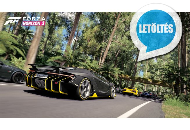 Forza Horizon 3 háttérkép letöltés