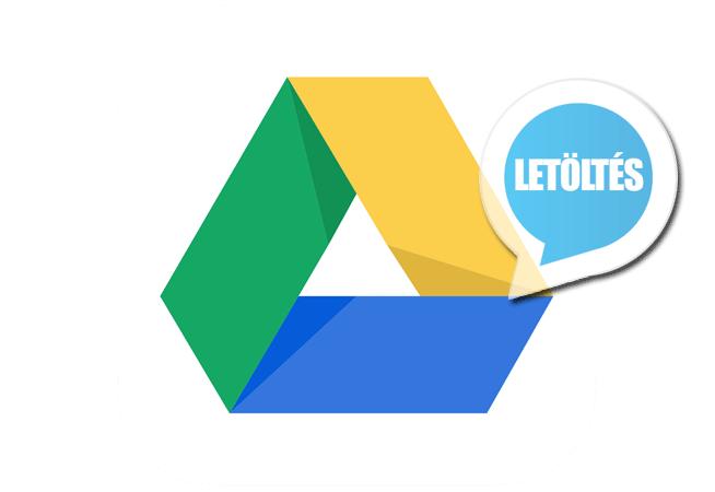 Google Drive 2.7.112 (magyar) Letöltés