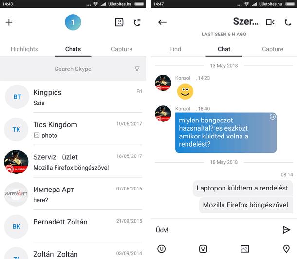 Skype Apk letöltés ingyen