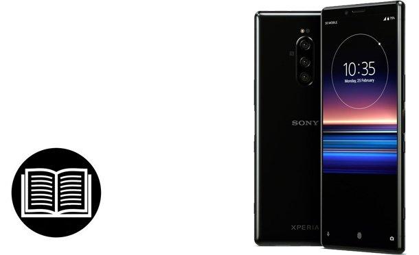 Magyar Sony Xperia1 útmutató letöltése