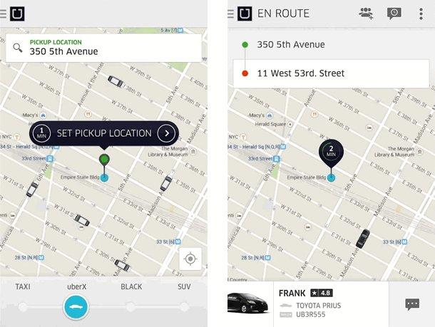 Uber taxi alkalmazás letöltés Androidra