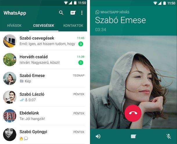 WhatsApp Messenger letöltés Androidra