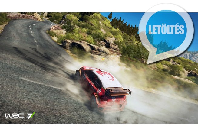 WRC 7 FIA World Rally Championship háttérkép letöltés