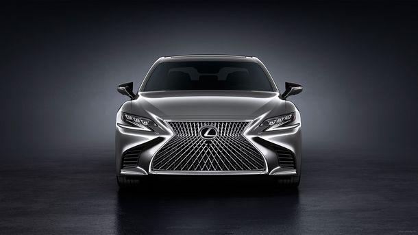 2018 Lexus LS 500 háttérképek